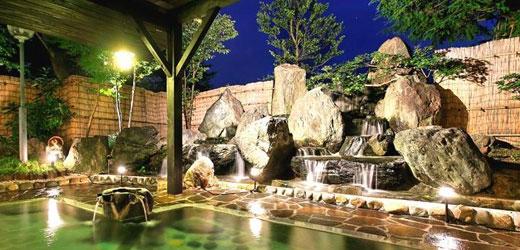 小野川温泉「河鹿荘」